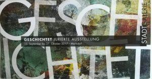 Einladung_Markdorf jurierte Ausstellung_GESCHICHTET__2017